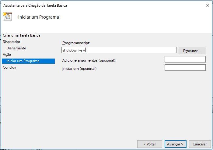 Windows 10 / Agendador de Tarefas / como programar o pc para desligar
