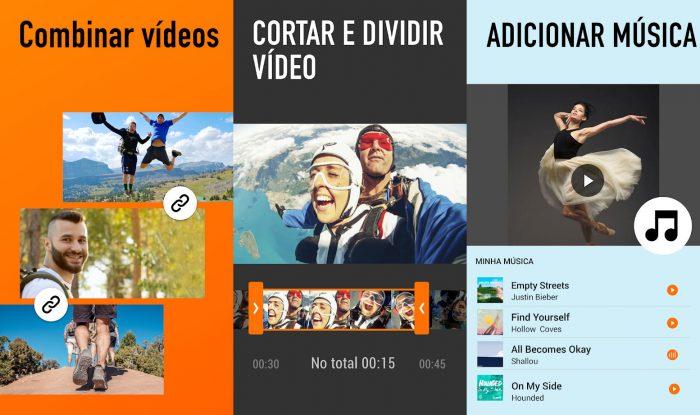YouCut / Android / aplicativo de fazer vídeo