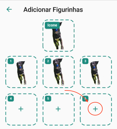 Adicionar Imagens Figurinhas WhatsApp