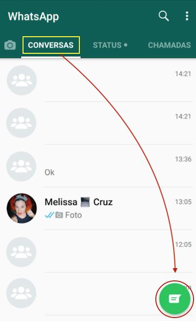 Iniciar Conversa Grupo Whatsapp