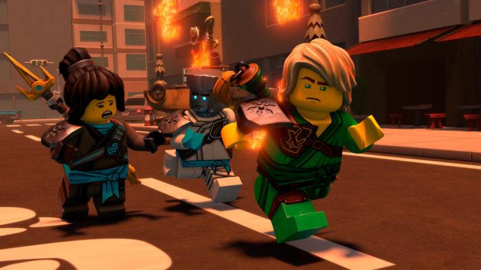 LEGO Ninjago A Série - Temporada 1 e 2(Imagem: Divulgação / Netflix)