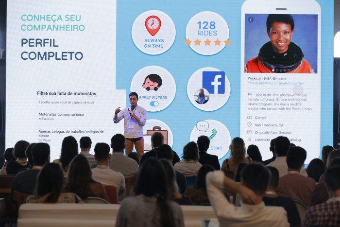 Waze + LinkedIn + Facebook
