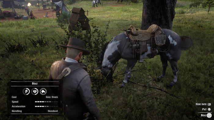 Red Dead Redemption 2 - cavalo / reprodução