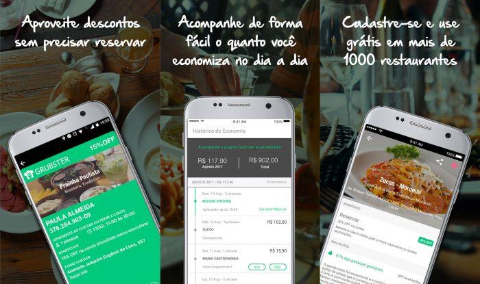 Android / Grubster / reserva restaurantes