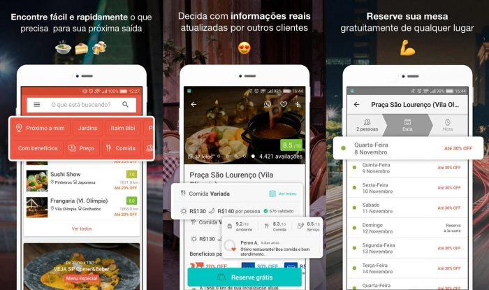 Android / Restorando / reserva restaurantes