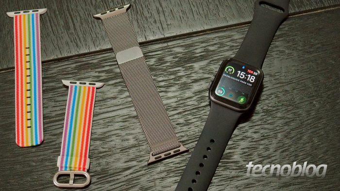 Apple Watch Series 4 e pulseiras