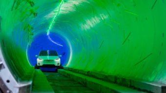 Empresa de Elon Musk escava túnel de transporte em Las Vegas