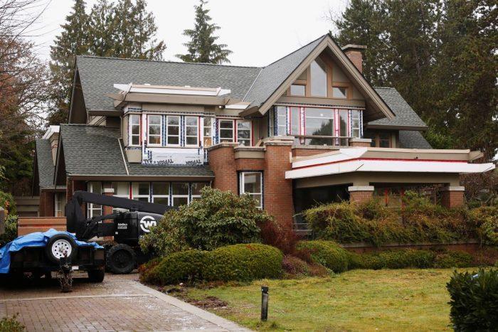 Uma das casas de Meng Wanzhou em Vancouver (Foto: David Ryder / Reuters)