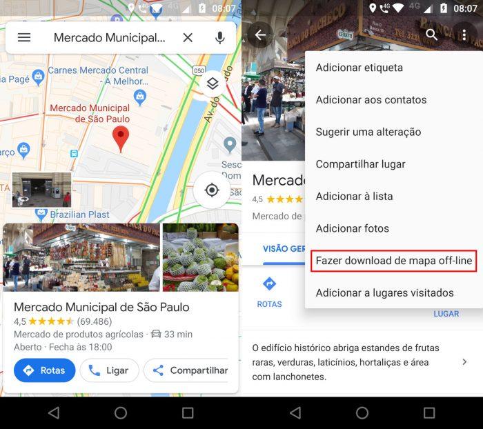 Android / Google Maps / como salvar rota no Google Maps