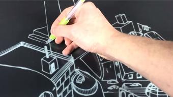 JustWrite é a tela da E Ink feita para escrever como num papel