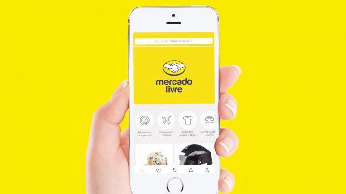 App do Mercado Livre (Imagem: Divulgação/Mercado Livre)