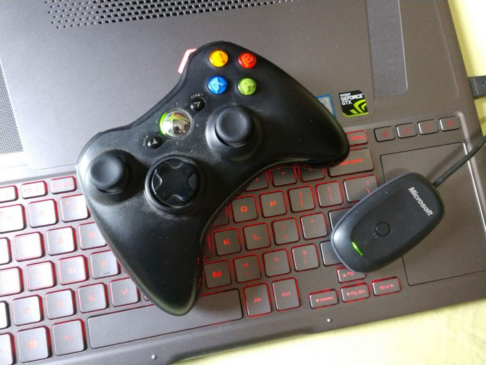 Controle do Xbox 360 conectado no PC / como conectar o controle do Xbox 360 no PC