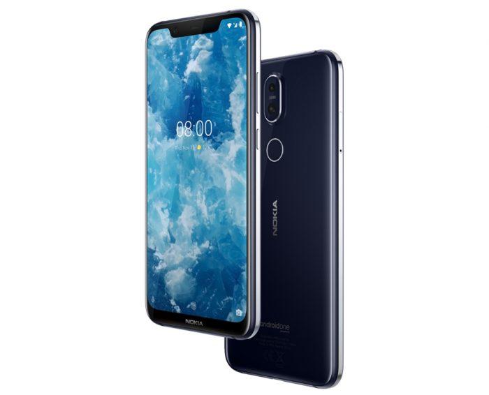 Nokia 8.1 azul