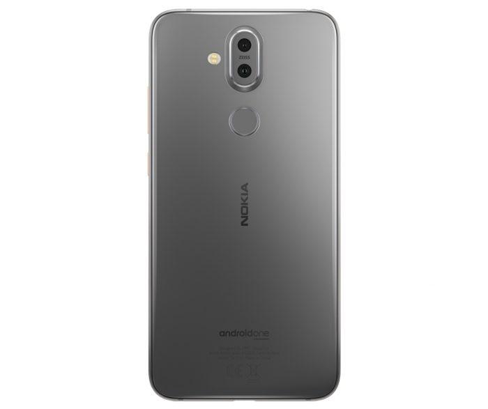 Nokia 8.1 cinza