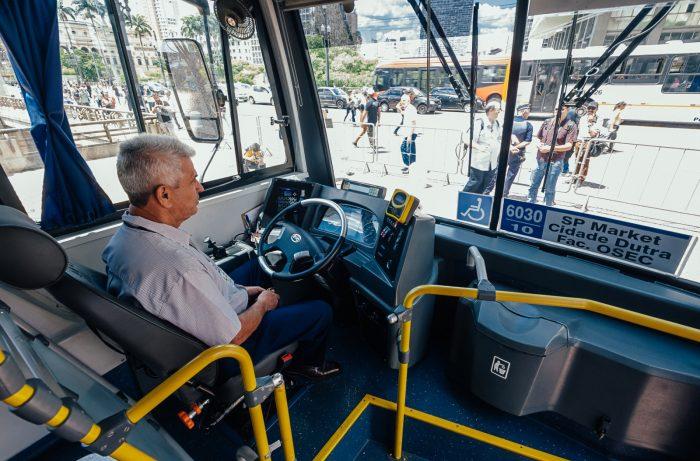 Ônibus elétrico BYD / Caio (Foto: Prefeitura de São Paulo)