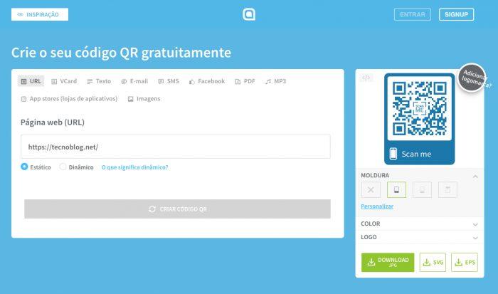 QR Code Generator / como criar um QR Code
