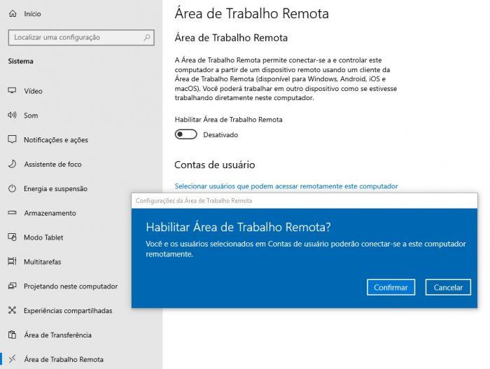 Como usar a Área de Trabalho Remota do Windows 10