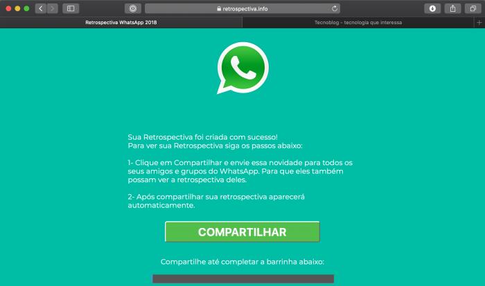 Retrospectiva WhatsApp