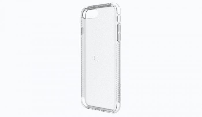 Capinha transparente de dispositivo iOS / como limpar capinha de celular