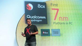 Snapdragon 8cx promete ser mais rápido que Intel Core i5 em notebooks