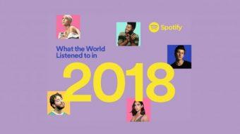 Spotify revela artistas, álbuns e músicas mais ouvidos de 2018