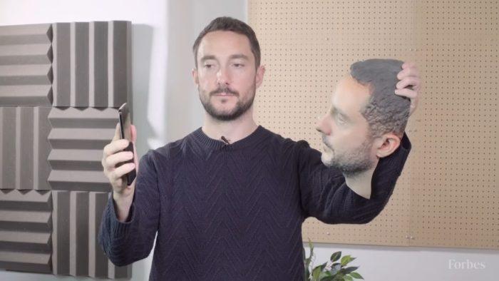 Teste de reconhecimento facial - Forbes