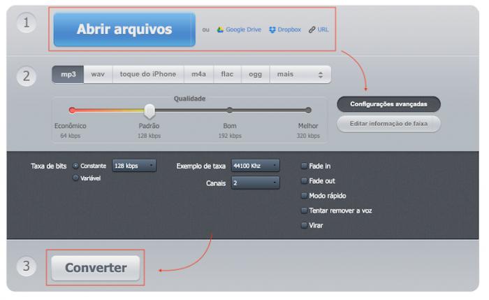 Converter MP3 - Audio Online