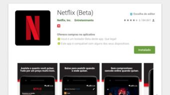 Como baixar e usar o app Netflix Beta