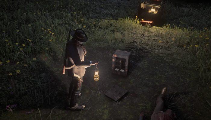 Red Dead Redemption 2 cofre / reprodução