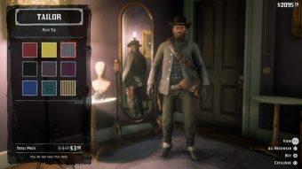 Como conseguir roupas no Red Dead Redemption II
