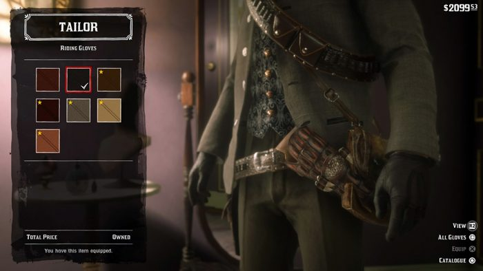Red Dead Redemption 2 roupas / reprodução
