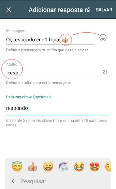 Respostas Rapidas Automaticas WhatsApp