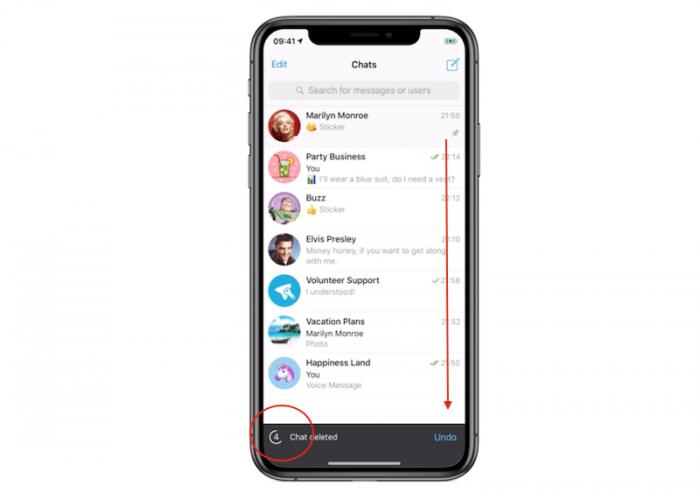 Telegram Recuperar Historico Mensagens