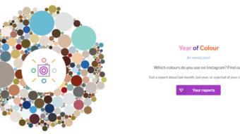 Como saber a qual é a paleta de cores do seu Instagram