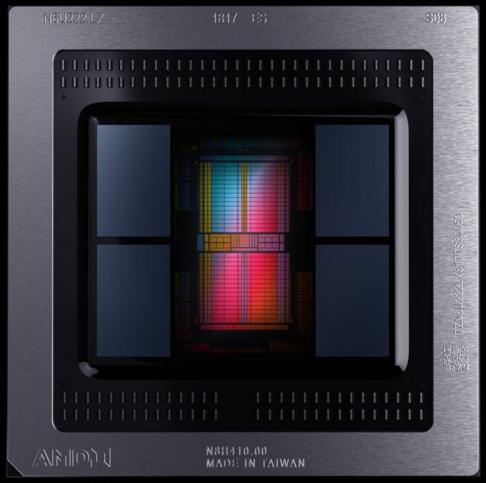 AMD Radeon VII — die