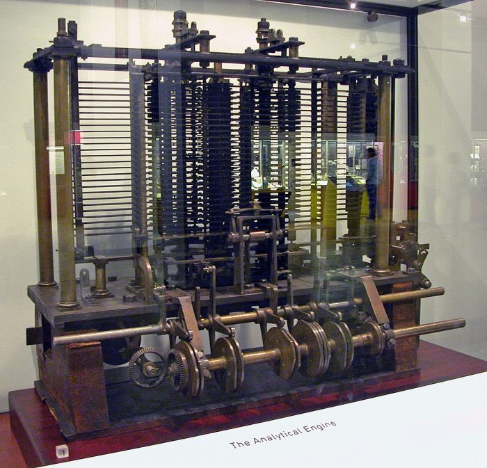 Wikimedia / modelo de parte da máquina analítica / quem inventou o computador