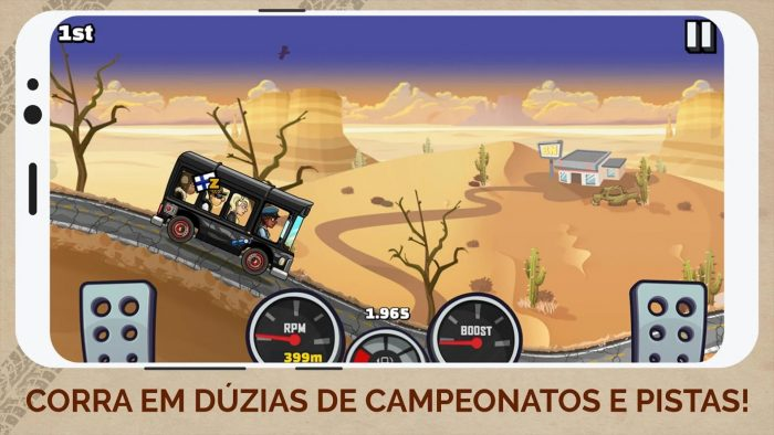 Android / Hill Climb Racing 2 / jogos offline