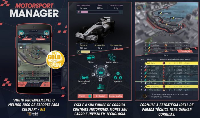 Android / Motorsport Manager / jogos offline