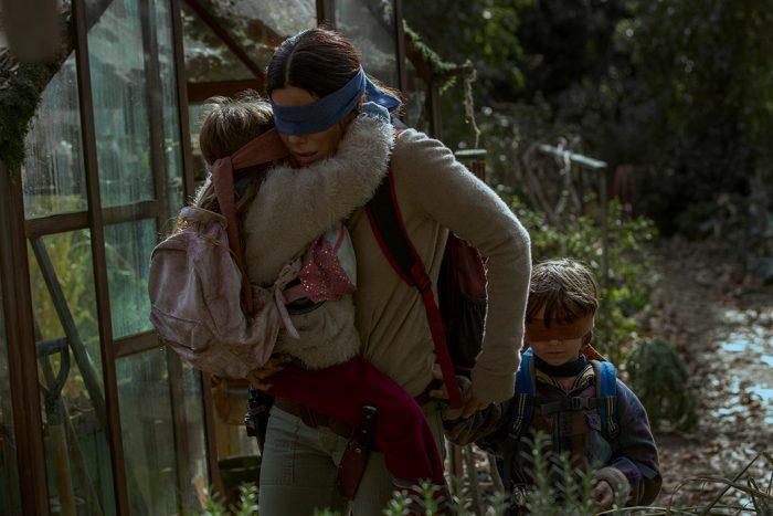 Bird Box, com Sandra Bullock, estreou em 21 de dezembro na Netflix
