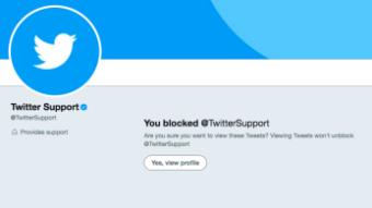Como ver tweets quem de bloqueou sua conta no Twitter