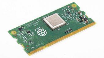 Raspberry Pi lança Compute Module 3+ com até 32 GB de armazenamento