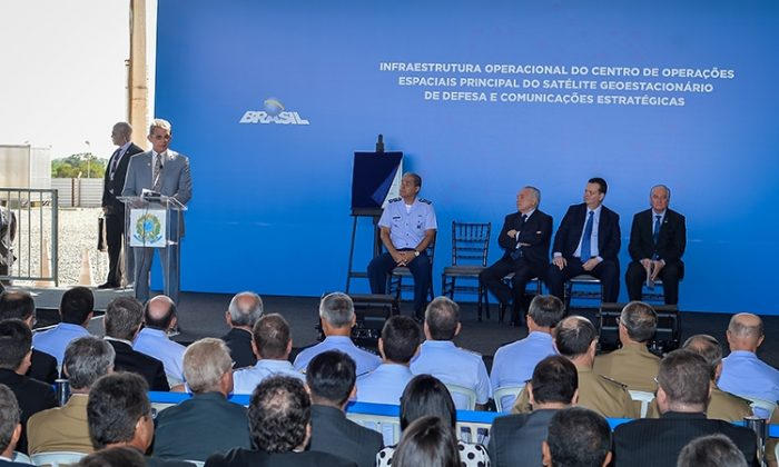 Inauguração do COPE-P, em Brasília