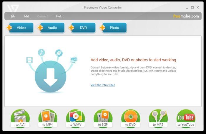 Freemake Video Converter / converter vídeo em áudio