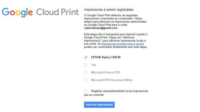 Google Cloud Print / configurando uma impressora sem acesso à internet / como imprimir do celular para impressora