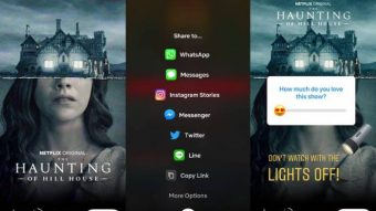 Instagram Stories permite compartilhar séries e filmes da Netflix