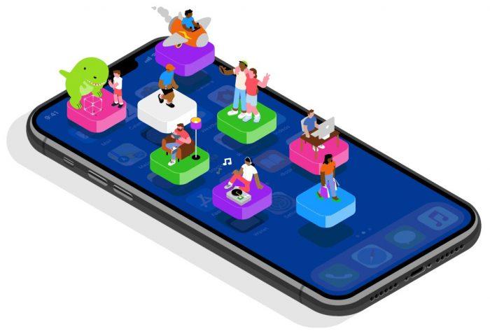 Apple / iPhone e apps / como desinstalar app no iphone