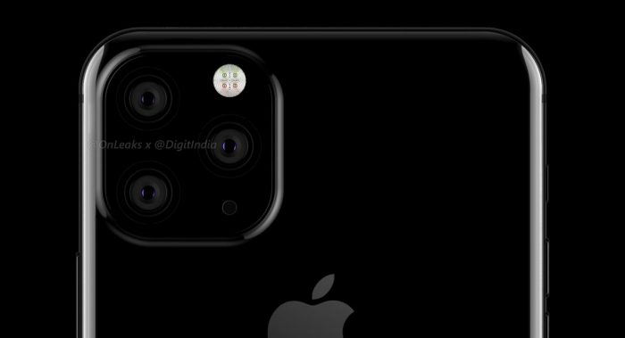 Apple poderá oferecer câmera tripla no suposto iPhone XI