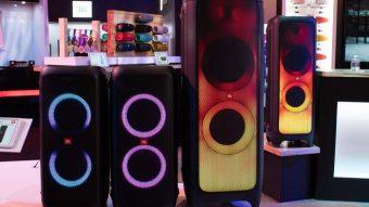 JBL Flip 5, PartyBox e JR Pop são novas caixas de som Bluetooth para todos os gostos