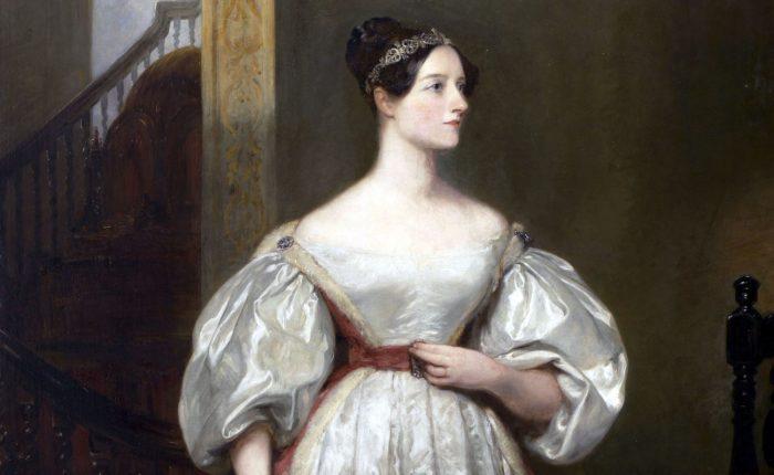 Margareth Sarah Carpenter / retrato de Ada Lovelace (detalhe) / quem inventou o computador
