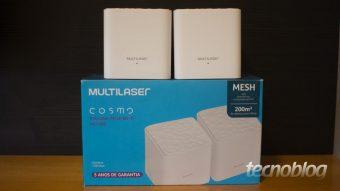 Multilaser Cosmo: roteador Wi-Fi mesh para as massas